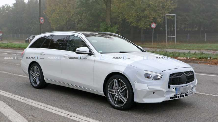 2020 Mercedes E-Class Wagon Spied Dressed In White ...