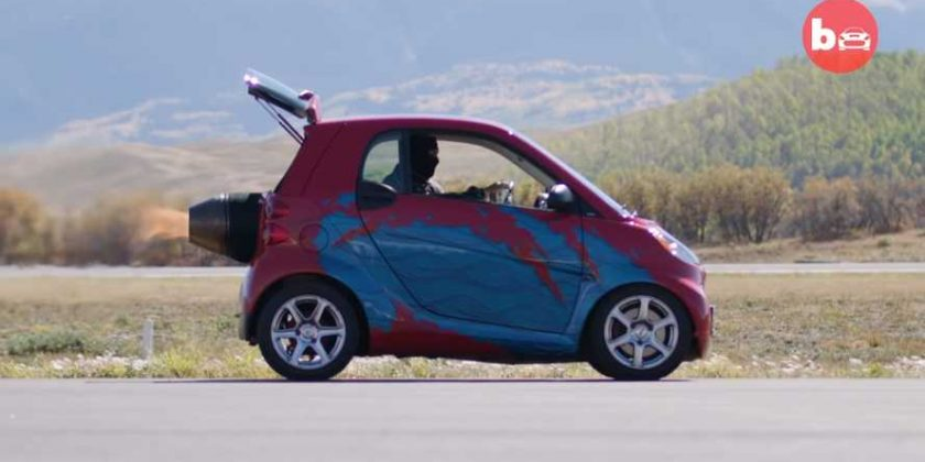 Someone Put A Bonkers Jet Engine Into A Smart Fortwo Automoto Tale