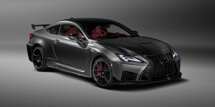 The 2020 Lexus Rc F Track Edition Loses Weight Adds Power
