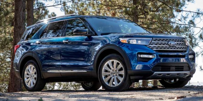 2020 Ford Explorer Debuts With New Rear Drive Platform