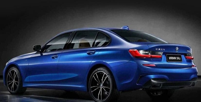 New Bmw 3 Series With Longer Wheelbase Showcased For China
