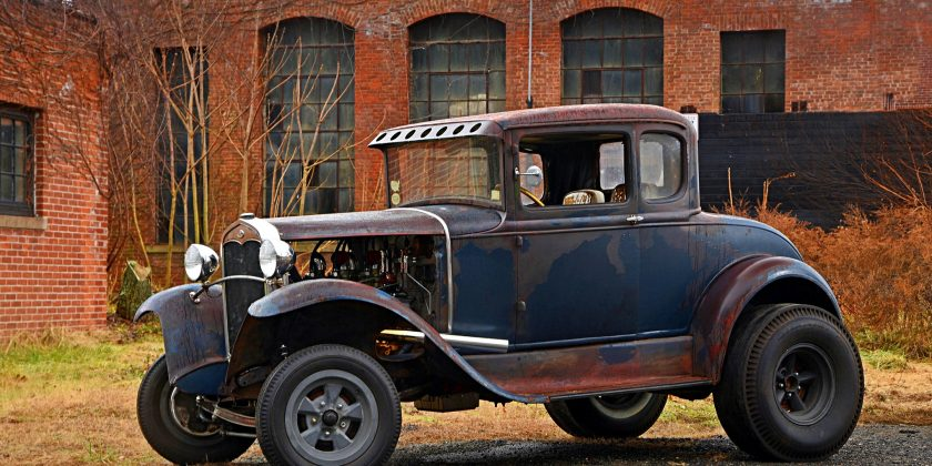 Historic 1930 Ford Model A Gasser Helped Establish Drag