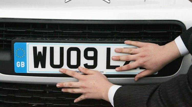 Dvla Number Plate Value Calculator Your Registration Could Be Worth Over 500 000 Automoto Tale