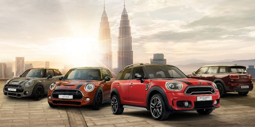 AD: MINI range now comes with MINI Connected - exclusive