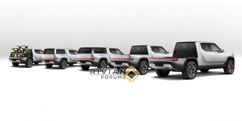 The Rivian electric pickup could get multiple bed options | AutoMoto