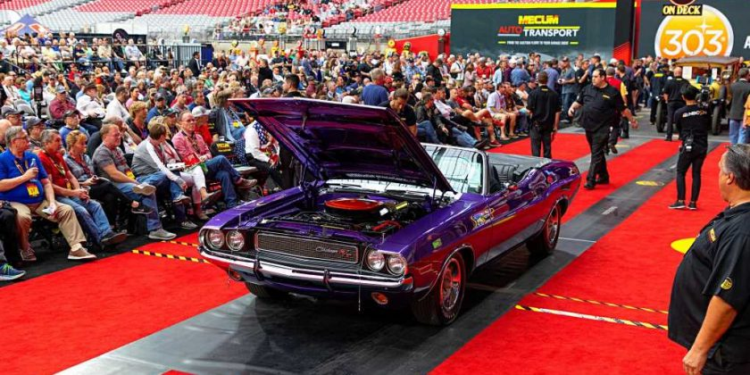 Mecum S First Arizona Collector Car Auction Smashes Records