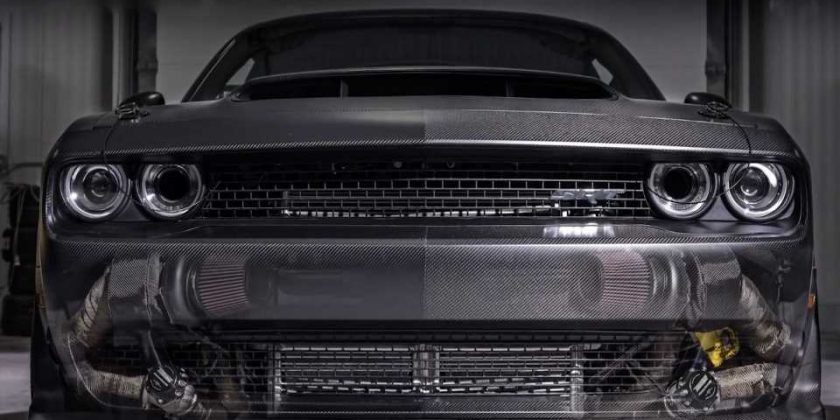 All-Carbon, Twin-Turbo, 1,400-HP Dodge Demon Is the Devil's