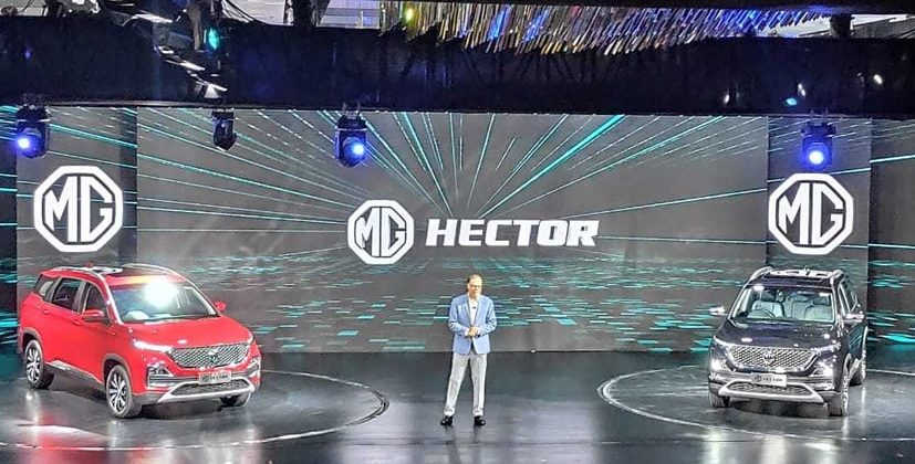 Mg Hector Suv Unveiled In India Launch In June 2019 Automoto Tale