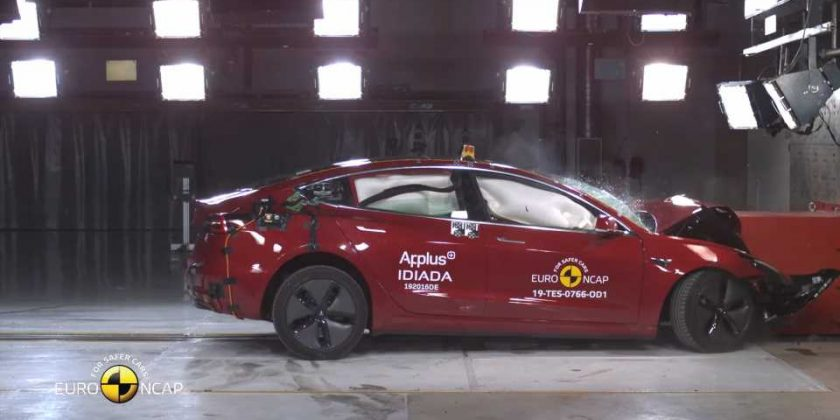 Watch a Tesla Model 3 Get Crash-Tested to Smithereens ...