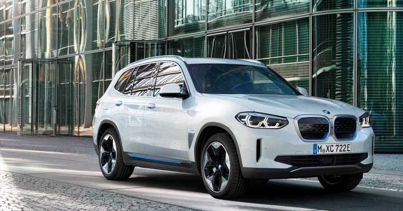 New 2021 BMW iX3 electric car on sale in the UK from £ ...